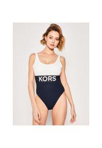 Niebieski strój kąpielowy Michael Kors
