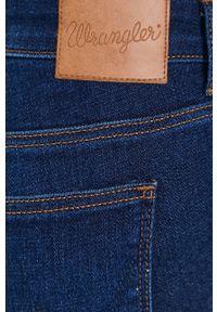 Wrangler - Jeansy 658. Kolor: niebieski