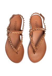 Brązowe sandały Inuovo na co dzień, casualowe