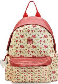 Make Notes Vintage B Plecak mały kwiaty. Wzór: kwiaty. Styl: vintage