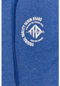 Tom Tailor - Bluza bawełniana. Okazja: na co dzień. Kolor: niebieski. Materiał: bawełna. Styl: casual #2