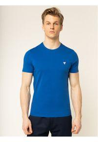 Niebieski t-shirt Guess