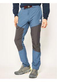 Niebieskie spodnie columbia