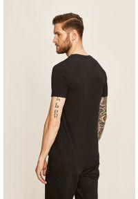 Diesel - T-shirt. Kolor: czarny