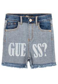 Niebieskie szorty jeansowe Guess