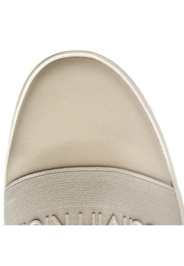 Beżowe trampki Calvin Klein