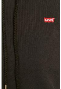 Czarna bluza Levi's® biznesowa, na spotkanie biznesowe, w kolorowe wzory