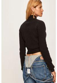 Czarny sweter Pepe Jeans na co dzień, casualowy
