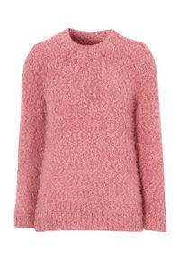 Różowy sweter Cellbes z długim rękawem, casualowy