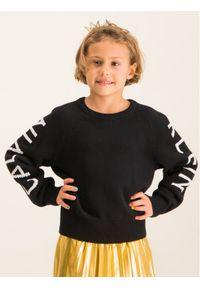 Czarny sweter Calvin Klein Jeans raglanowy rękaw