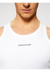 Biały tank top Calvin Klein Jeans