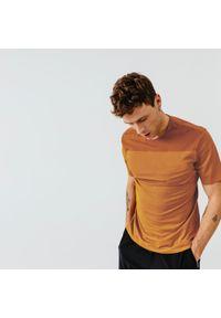 KALENJI - Koszulka Do Biegania Dry+ Breath Męska. Materiał: poliester, materiał, elastan