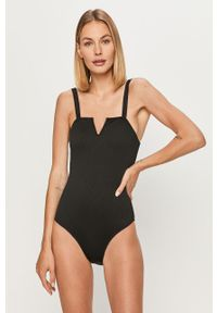 Czarny strój kąpielowy Vero Moda z wyjmowanymi miseczkami