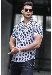 Wielokolorowa koszula IVET klasyczna, na co dzień