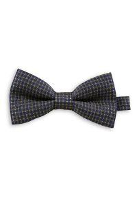 Muszka EM Men's Accessories w geometryczne wzory, elegancka