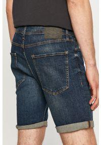 Niebieskie szorty PRODUKT by Jack & Jones gładkie, na co dzień, casualowe