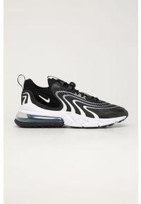 Czarne sneakersy Nike Sportswear Nike Air Max, na sznurówki, z cholewką