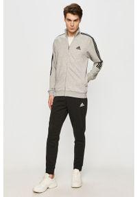 Szary komplet dresowy Adidas