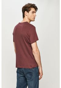 Fioletowy t-shirt Tom Tailor