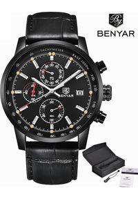 Zegarek BENYAR czarny (BY5102). Kolor: czarny