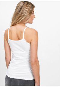 Czarny top bonprix na ramiączkach