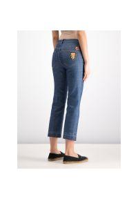 Niebieskie jeansy Tory Burch