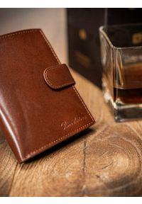 Brązowy portfel PIERRE ANDREUS