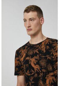 medicine - Medicine - T-shirt bawełniany Barong Mask. Kolor: czarny. Materiał: bawełna