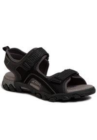 Czarne sandały Superfit na lato, klasyczne