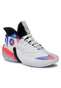 Białe buty do koszykówki Nike