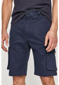 Niebieskie szorty Tommy Jeans casualowe, gładkie
