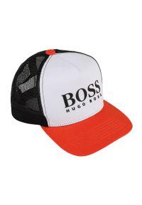Czerwona czapka z daszkiem BOSS