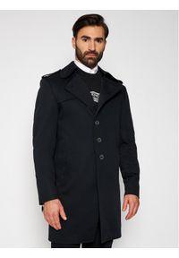 Czarny płaszcz przejściowy Rage Age