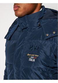 Niebieska kurtka zimowa La Martina