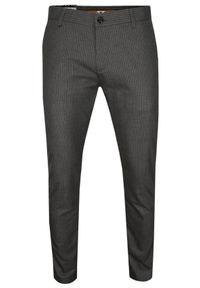 Szare spodnie Tomy Walker na co dzień, w paski, casualowe
