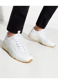 Iceberg - ICEBERG - Białe sneakersy. Zapięcie: sznurówki. Kolor: biały. Materiał: materiał. Szerokość cholewki: normalna