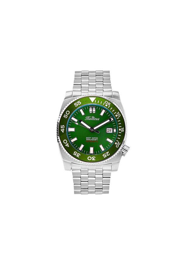 BALTICUS ZEGAREK Deep Water Zielony BLT-DW-GRN. Kolor: zielony. Materiał: nylon