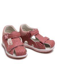 Różowe sandały Nelli Blu na lato