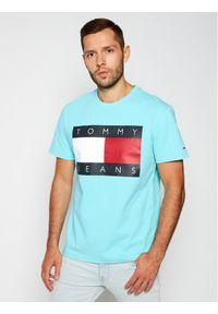 Niebieski t-shirt Tommy Jeans