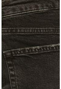 Czarne jeansy loose fit Vero Moda z podwyższonym stanem