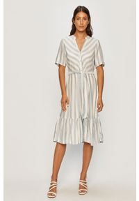 Sukienka Jacqueline de Yong z krótkim rękawem, na co dzień, midi