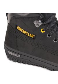 CATerpillar - Trzewiki CATERPILLAR - Time Rift P724840 Black. Kolor: czarny. Materiał: skóra, nubuk. Sezon: zima. Styl: elegancki