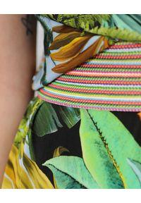 CRISTINAEFFE - Sukienka z kwiatowym printem. Kolor: zielony. Materiał: materiał. Wzór: nadruk, kwiaty. Sezon: lato. Długość: maxi #5