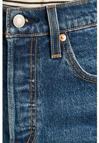 Levi's® - Levi's - Szorty jeansowe 501. Okazja: na co dzień, na spotkanie biznesowe. Kolor: niebieski. Materiał: jeans. Styl: casual, biznesowy