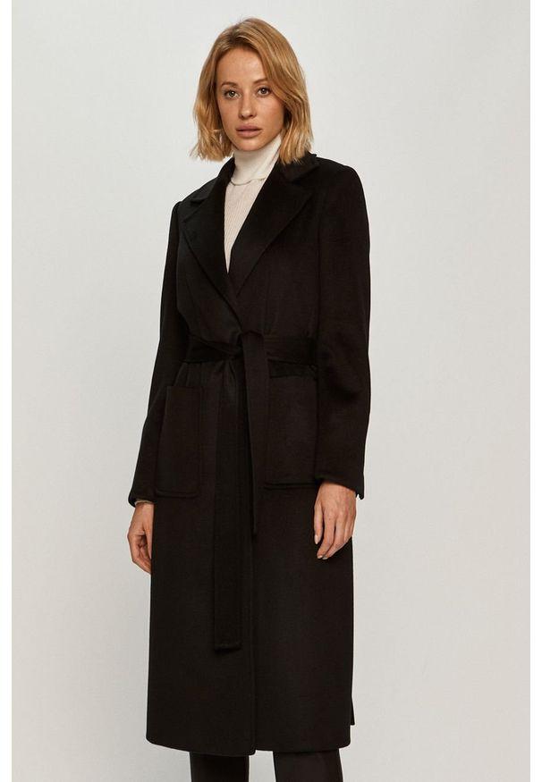 Czarny płaszcz MAX&Co. bez kaptura, casualowy, na co dzień