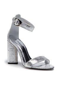 Srebrne sandały R.Polański eleganckie