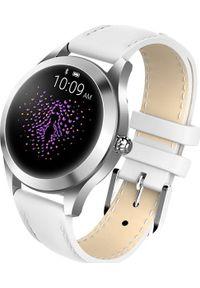Biały zegarek Garett Electronics smartwatch