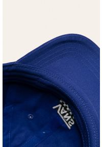 Niebieska czapka z daszkiem Vans
