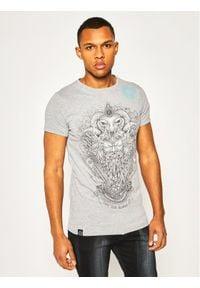 Rage Age T-Shirt Perun Monoch Szary Regular Fit. Kolor: szary