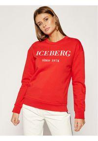 Iceberg Bluza 19II2P0E0126330 Czerwony Regular Fit. Kolor: czerwony